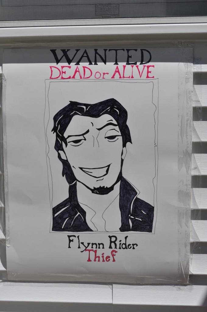 Tangled Flynn Rider Sign