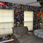 FanGirl Friday:  DIY Comic Book Room
