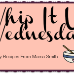 Whip It Up Wednesday: Sweet Potato Waffles   Plus a Recipe Linkup!