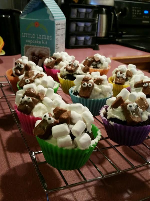 Little Lambs Cupcakes