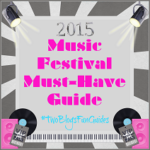 2015 Music Festival Must Haves