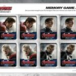 Avengers: Age of Ultron Memory Game