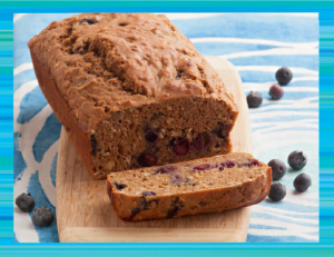 Blueberry Hawaii Bread