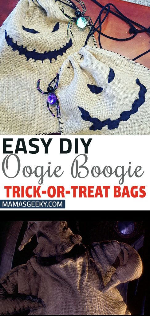 Oogie Boogie Trick or Treat Bags DIY