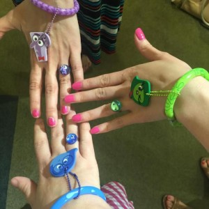 Inside Out Braceletes and Rings