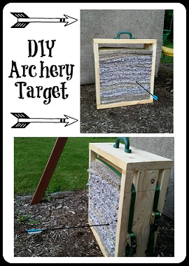 How To Make Your Own Diy Archery Target Mama S Geeky