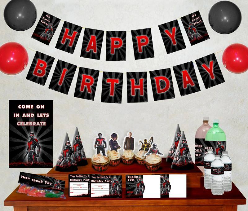 AntMan Party Printables