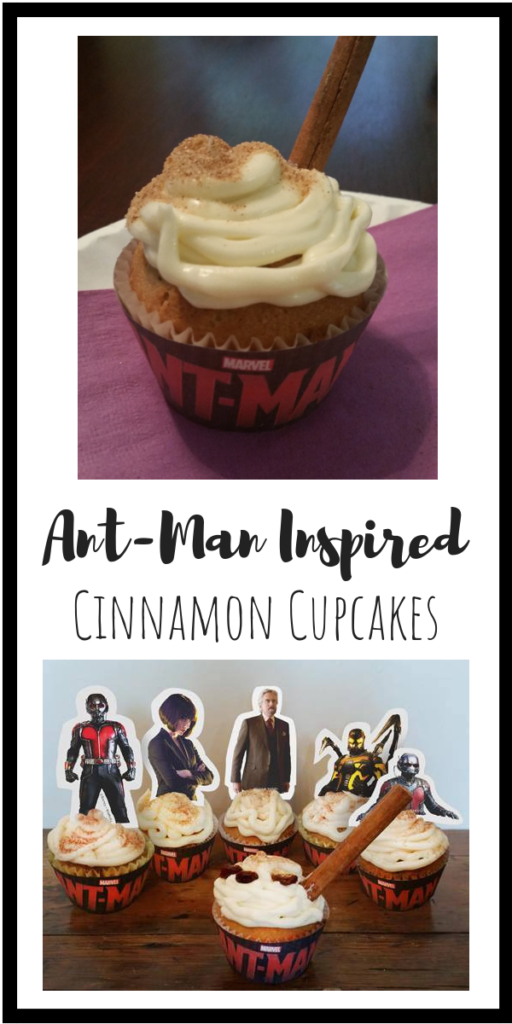Ant-Man Cupcakes Recipe