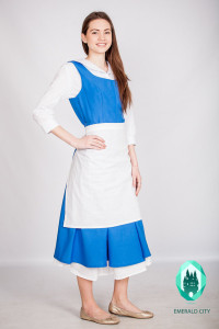 Belle White and Blue