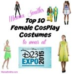 Top 10 Female #Cosplay Costumes to Wear to #D23Expo | #Disney #Cosplay #DisneyCosplay