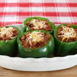 #Recipe: Sweet Hickory Pulled Pork Stuffed Peppers #GlutenFree