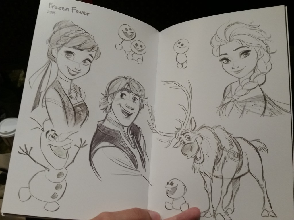 Frozen Fever Sketches