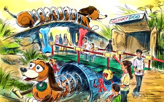 Toy Story Coaster