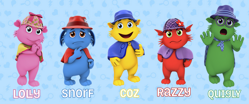 moodsters characters
