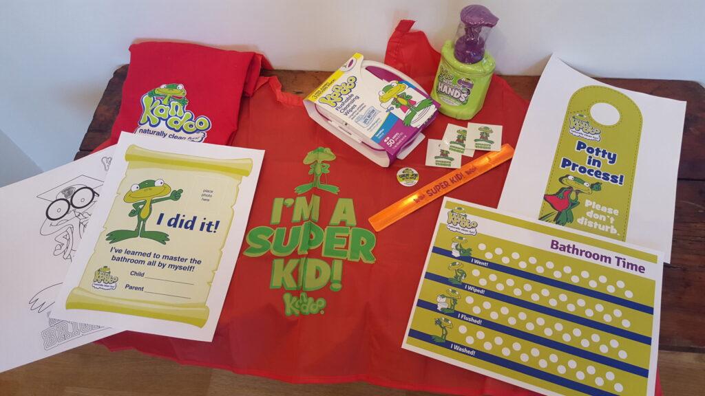 Kandoo Potty Training Party Kit