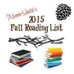 2015 Fall Kid's Reading List