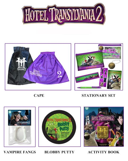 Hotel Transylvania 2 Giveaway