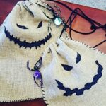 Oogie Boogie Inspired Trick or Treat Bags | #DIY #Halloween #Disney