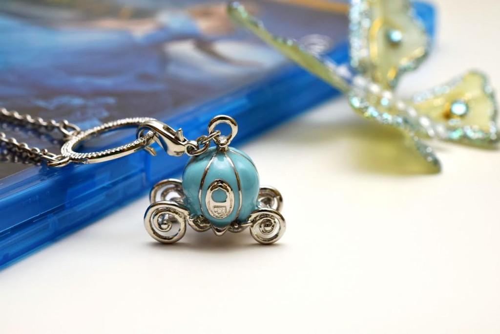 Cinderella Coach Necklace