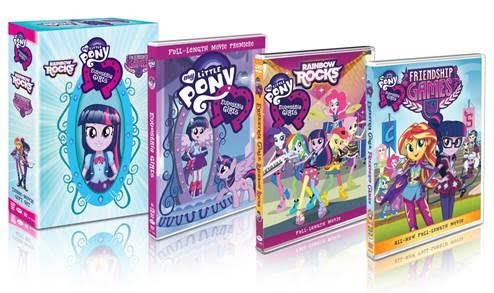 Equestria Girls Gift Set