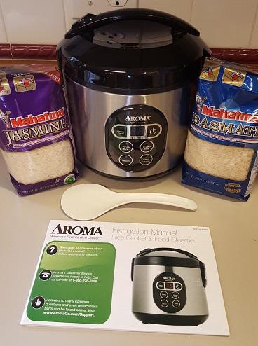 Mahatma Rice & Aroma Rice Cooker