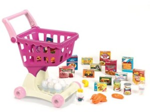 play circle shopping cart