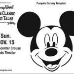 Disney Live! Free Printable Activity Sheets including Pumpkin Stencil | #Disney #Printables