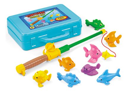 Tubtime Magnetic Fishing Set