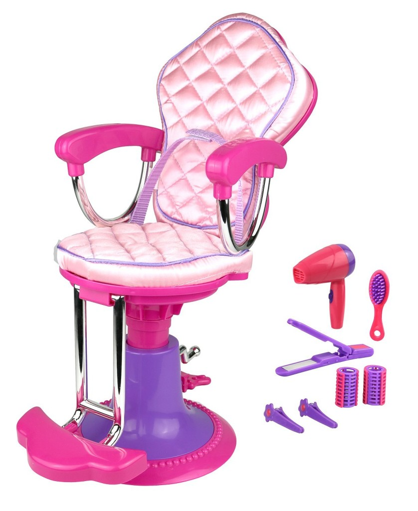 doll salon chair
