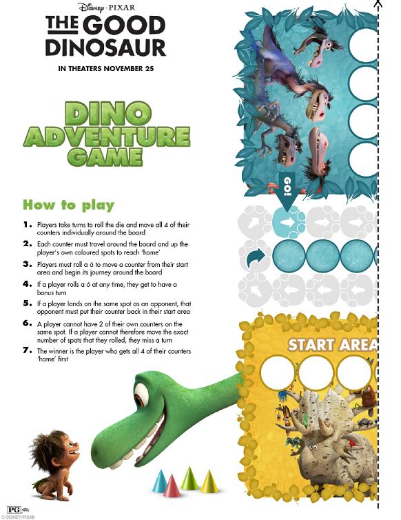 Dino Adventure Game