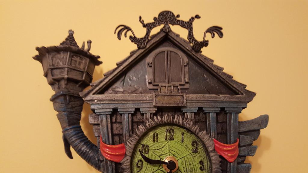 nightmare before christmas clock - Nightmare Before Christmas Cuckoo Clock