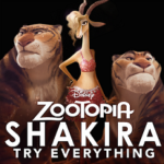 "Brand New Music Video for Shakira's ""Try Everything"" from #Zootopia 