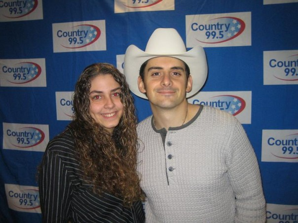 Me with Brad Paisley in 2005