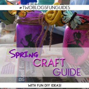 Spring Craft Button