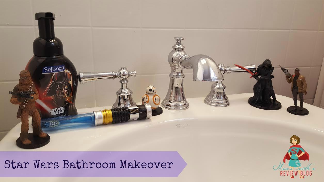 Star Wars Bathroom Makeover