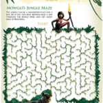 Get Your Free Disney's The Jungle Book Activity Sheets | #JungleBook #ActivitySheets