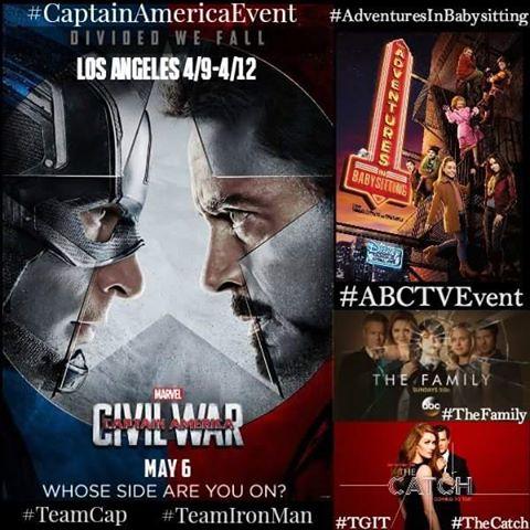 Captain America Event Button
