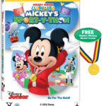 Mickey Mouse Clubhouse: Mickey's Sport-y-thon on DVD 5/24 | #DisneyJr #MickeyMouse