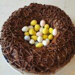 Robin's Nest Cake Recipe | #Easter #Recipe #Dessert