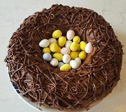 Robins Nest Easter Cake