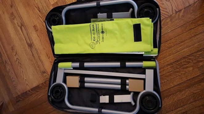 kid-o-bunk camping kit