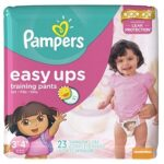 Potty Training Tips, Giveaway, + a Twitter Party!| #PampersEasyUps #Giveaway
