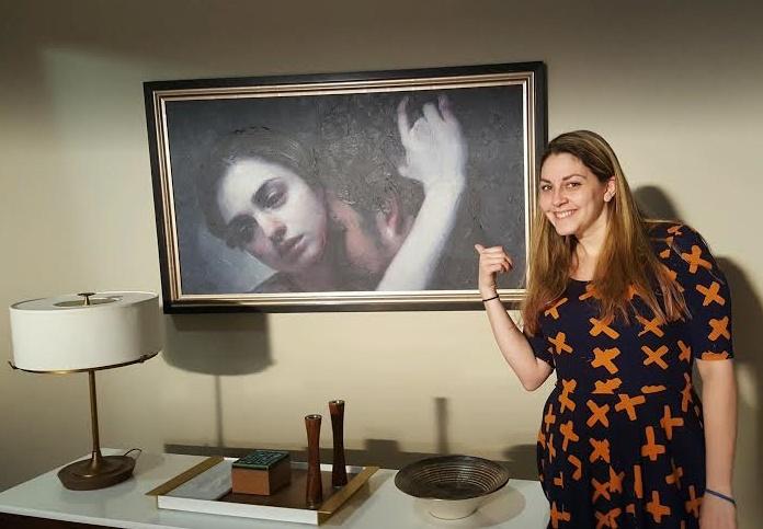 Maria Kreyn Painting The Catch