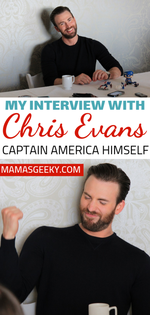 Captain America Chris Evans Interview