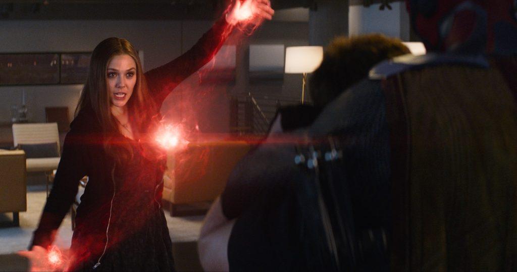 Scarlet Witch Elizabeth Olsen