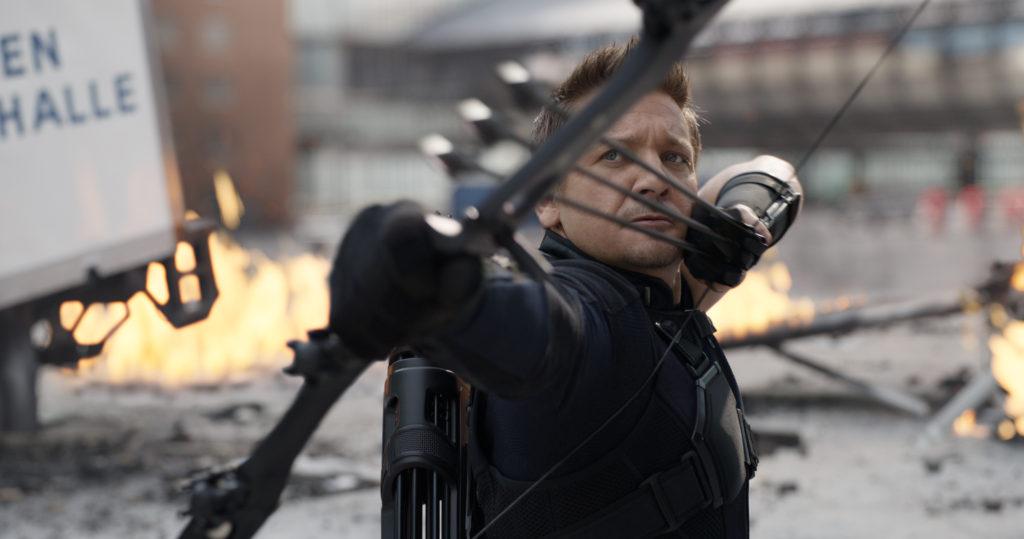Jeremy Renner Hawkeye