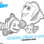 Free Downloadable Finding Dory Coloring & Activity Sheets | #FindingDory #Disney