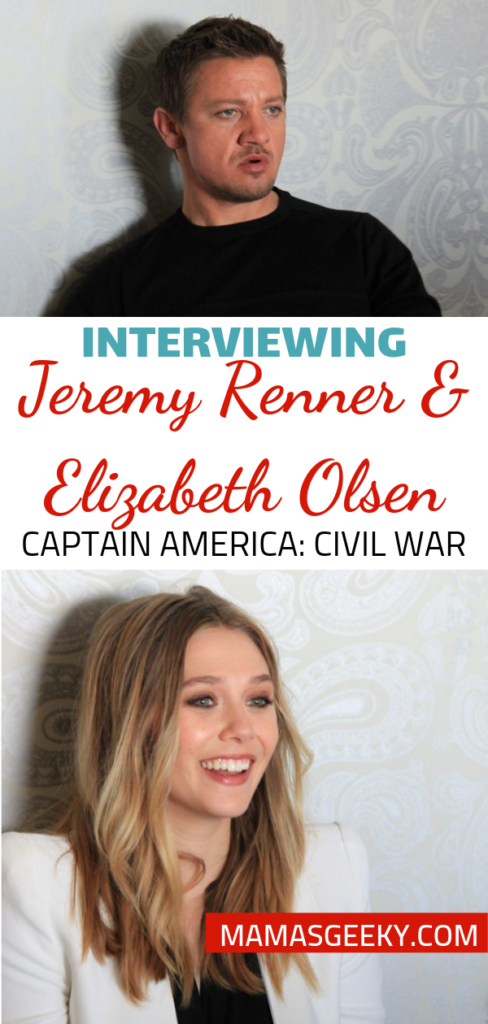 Jeremy Renner Elizabeth Olsen Interview MCU