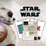 Star Wars: The Force Awakens Crafts & Recipes – on Digital HD TODAY | #StarWars #TheForceAwakens