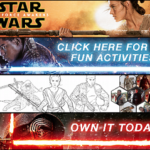 Star Wars: The Force Awakens Coloring Pages + Bonus Clips